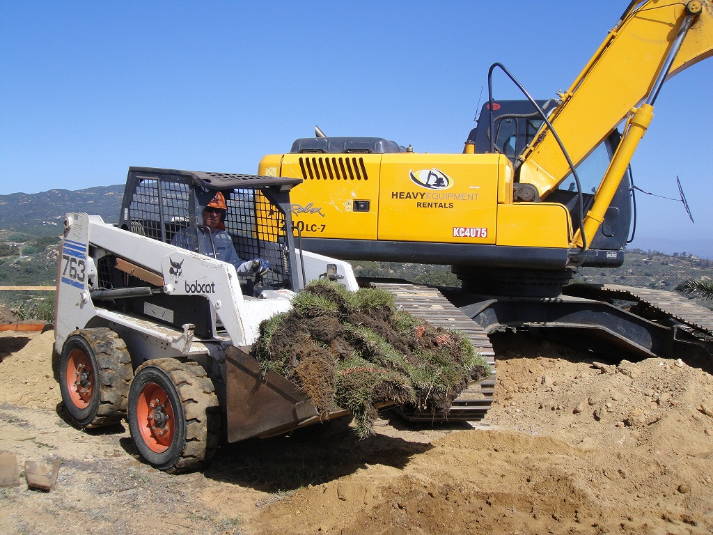 MG Peters Landscape Bobcat Service