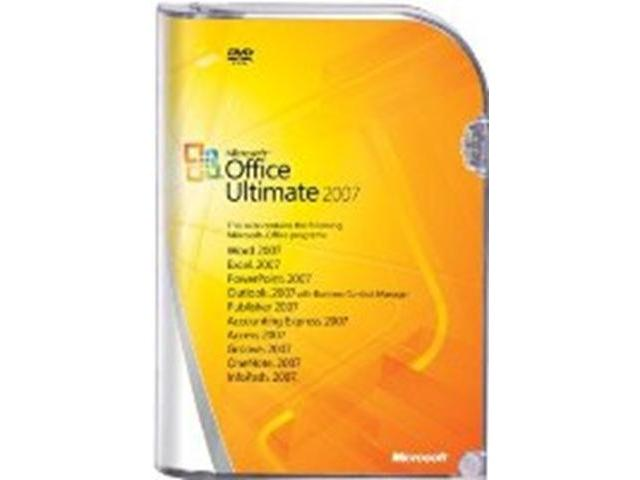 MS OFFICE ULTIMATE 2007 - $250