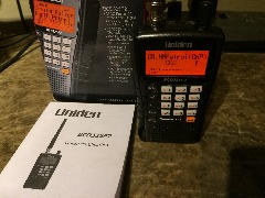 Uniden BCD325P2 Handheld TrunkTracker V Phase II Digital Police Scanner