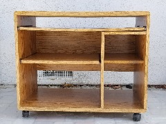 Particle Board Computer Cart