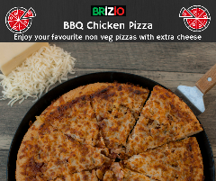 Enjoy the yummiest pizza at home now with Brizio's home delivery services