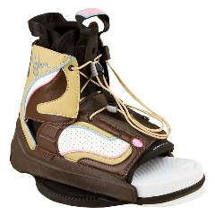 HYPERLITE EDEN WAKEBOARD BINDINGS BOOTS OPEN TOE WOMEN'S MINI