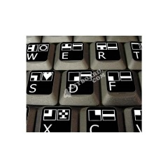 Buy Commodore Keyboard Stickers Online - 4keyboard