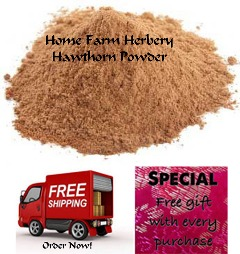 Order our Hawthorn Berry Powder now, FREE shipping & a free gift