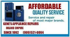 Gene's Appliance Repair