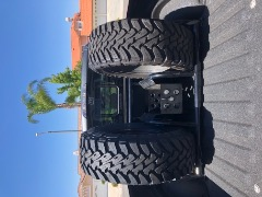 Chase truck tire rack
