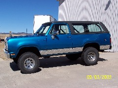 1975 Dodge Ramcharger - $15000 OBO - ABQ, NM
