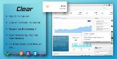 Clear - VueJS + Laravel Admin Template