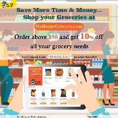 Shop your Groceries Online Richardson,Texas - MyHomeGrocers