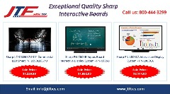 Buy Exceptional Quality Sharp Interactive Boards - Jtfbus.com