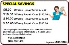 Automotive Service Savings Coupon