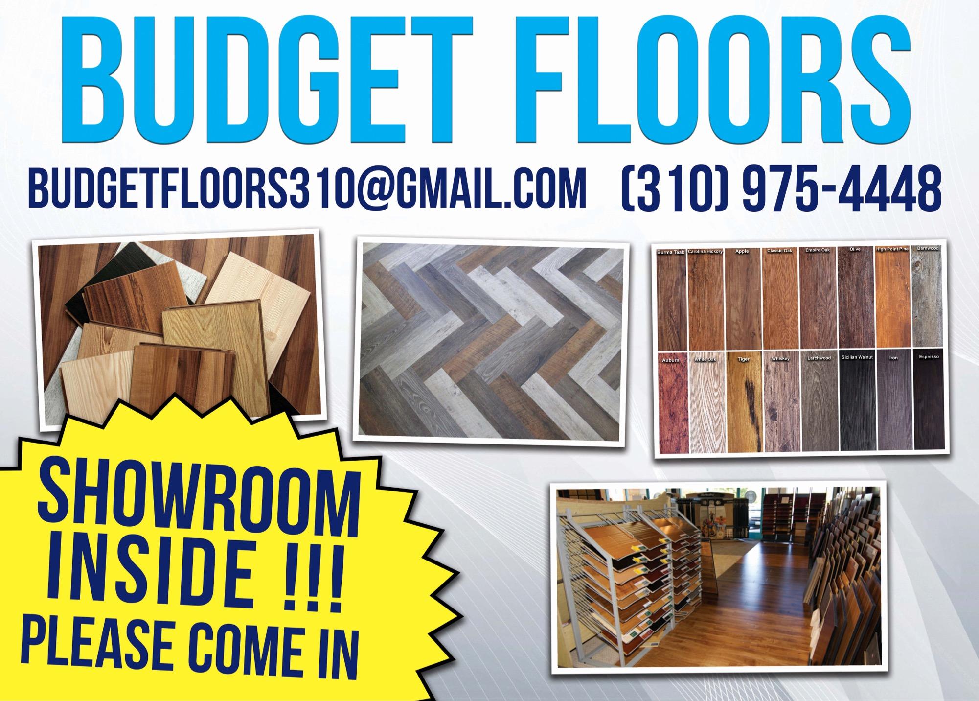 Budget Floors / Wood Floors-Laminate Floors- Vinyl Planks