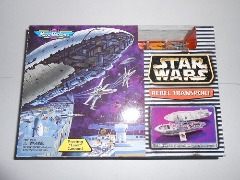 STAR WARS MICRO MACHINES REBEL TRANSPORT PLAYSET NEW SEALED