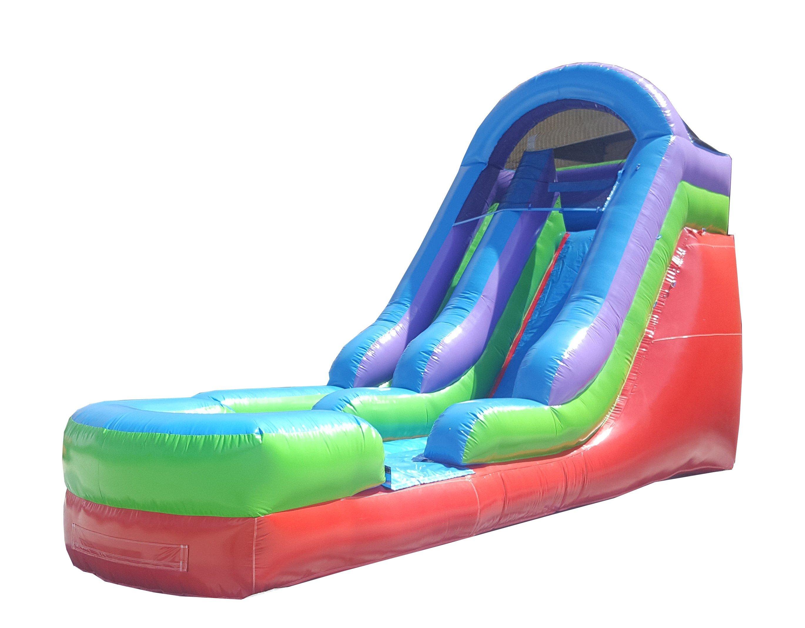 Pogo 15' Retro Rainbow Monster Wet or Dry Slide