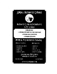 MOM & POP LLC. Small  Business unsecured Loan services