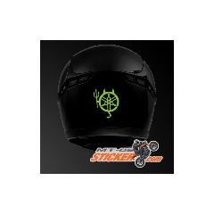 Yamaha Devil rear helmet stickers (30)