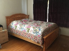 Matching Bed Frame & Dresser