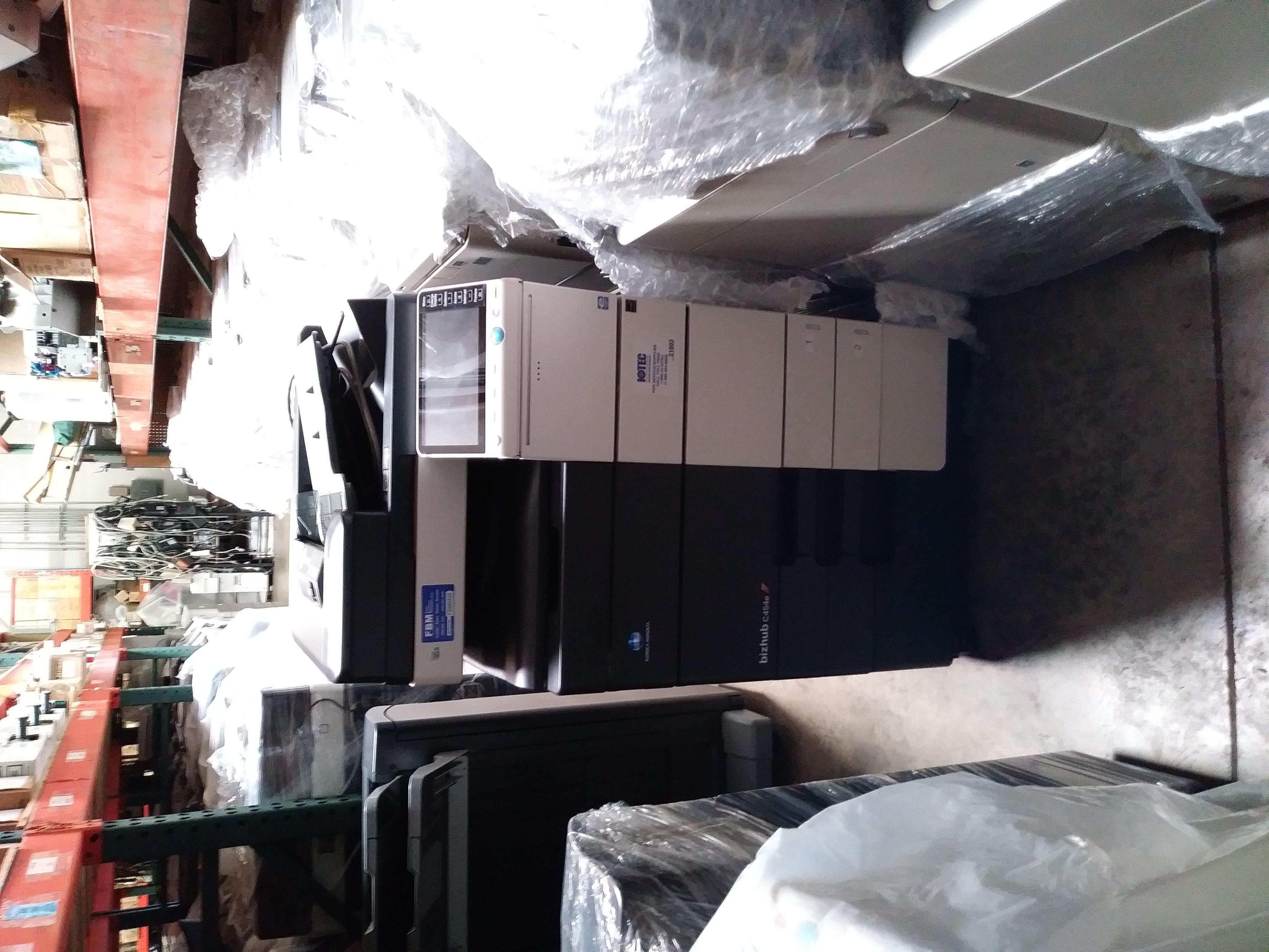Rental - Konica Bizhub C224e Printer Copier Scanner Color MFP Low Meter