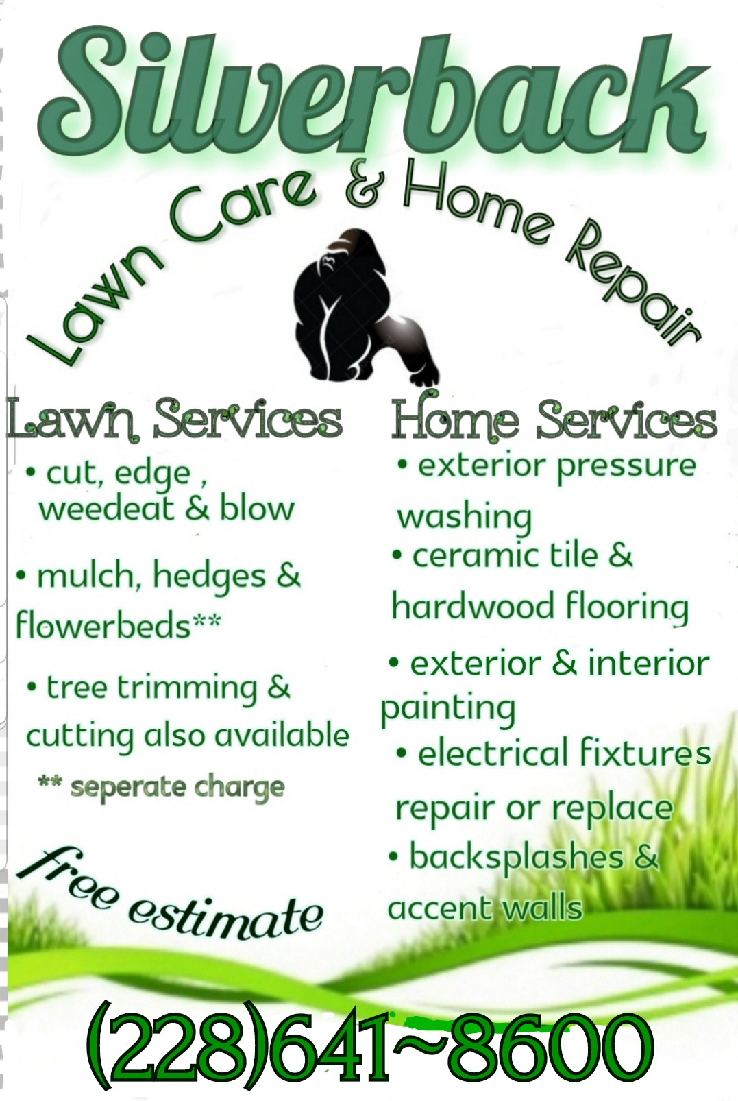 Lawn Care & Home Repairs