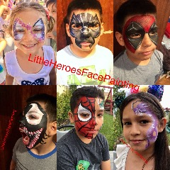 Facepainting, Party