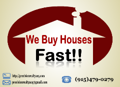 We Buy Houses!* Any Condition, Any Reason!