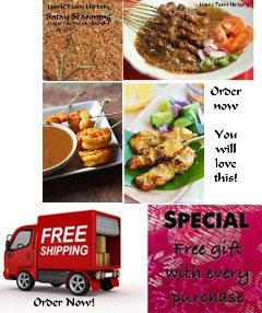Satay Seasoning, Order now, FREE shipping & a free gift!