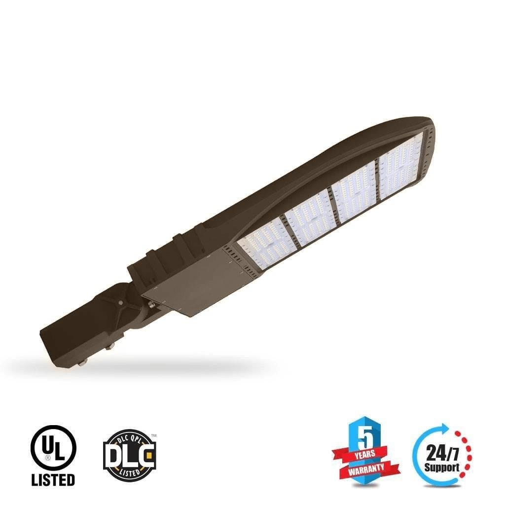 Best Outdoor LED Pole Light 300 Watt Bronze 5700K AM - LEDMyplace
