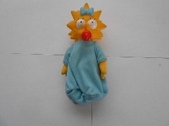 MAGGIE SIMPSON FIGURE DOLL THE SIMPSONS 1990 7