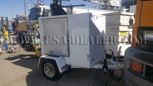 1995 MIGHTY MOVER RADAR TRAILER