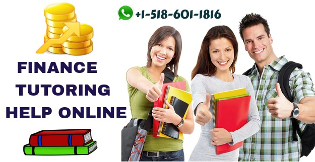 Get the Best Finance Tutoring Help Online From the Qualified Experts