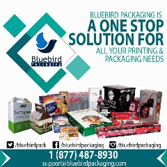 Custom Packaging Boxes Solutions in USA – Bluebird Packaging