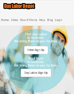 Day Laborers Nearby Available for Your Projects. You Set the Pay Rate.