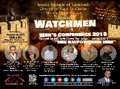 Men's Conference - Watchmen of the Wall Men's Conference!
