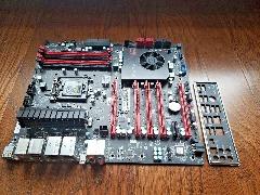 EVGA Z77 FTW 155 Intel 6GB Motherboard WHATSAPP CHAT:+971 52 334 2859