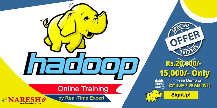 Hadoop Online Training - NareshIT
