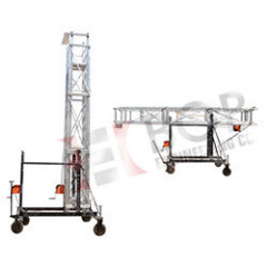 Aluminium Tiltable Tower Ladder for Contruction Industries