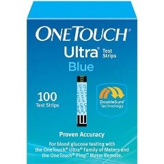CASH FOR YOUR DIABETIC TEST STRIPS - One Touch Ultra 100's - Test Strips