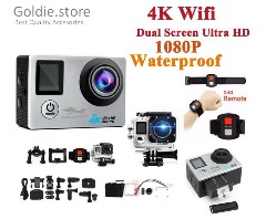 LCD Dual Screen Ultra HD Sports Action Pro Camera + Remote Control (Newest Version) - free shipping