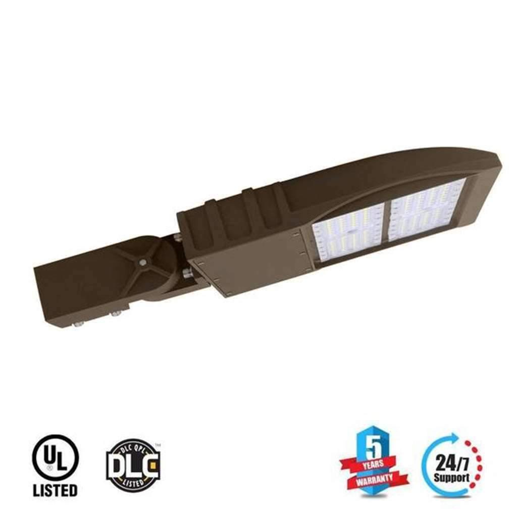 Outlightin LED Pole Light 150 Watt 5700K Bronze AM