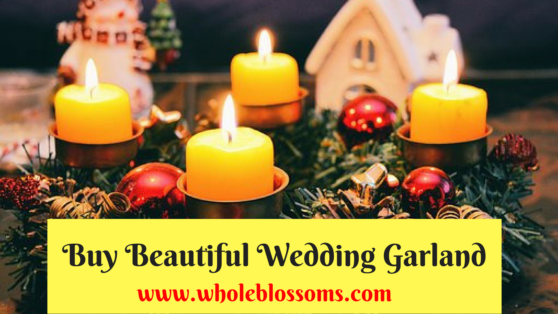 Looking to Buy Amazing Flower Garland Wedding for Sale at Influential Prices