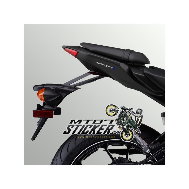 2X colors MT-07 Under seat fairing sticker (43)