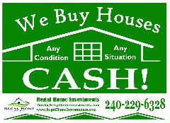CASH for your House in Fairfax, VA! Any Condition!