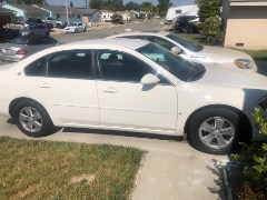 2008 White Chevy Impala