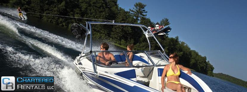 Boating on Lakes Minnesota