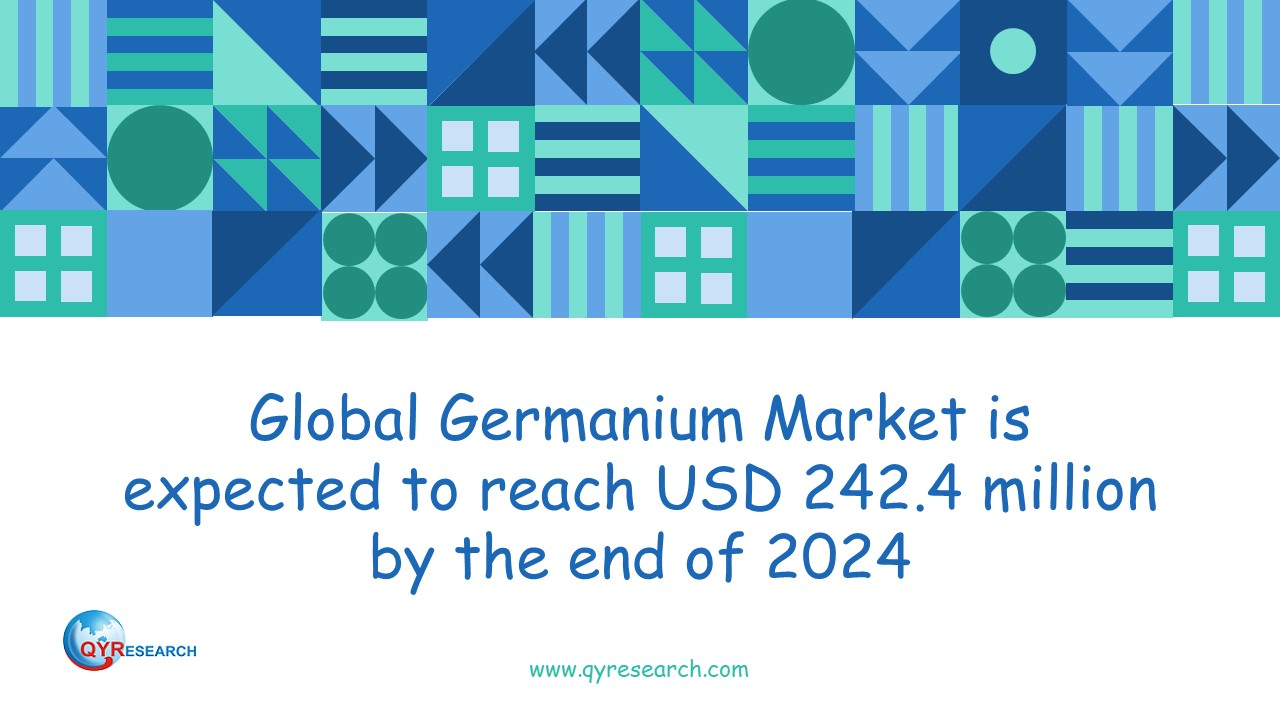 Global Germanium Market is expected to reach USD 242.4 million by the end of 2024