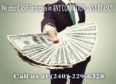 I buy houses in Landover, MD and can close when you need!