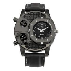 1PCS Fashion Men's Thin Silica Gel Sports Quartz Watch