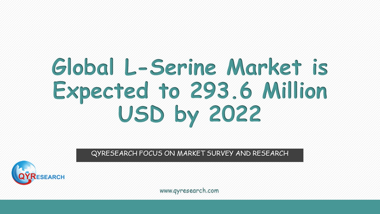 Global L-Serine Market is Expected to 293.6 Million USD by 2022
