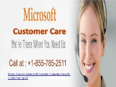 Microsoft Customer Care | +1-855-785-2511 | Microsoft  Phone number
