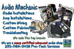 car audio mechanic